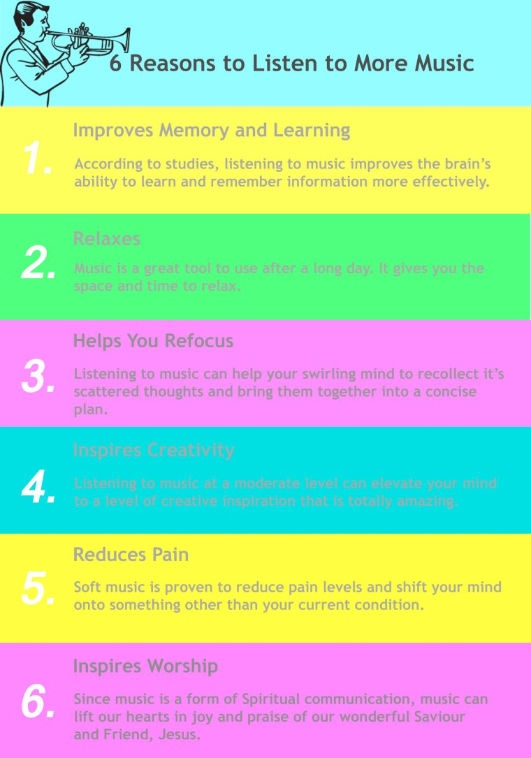 6 reasons to listen to more music