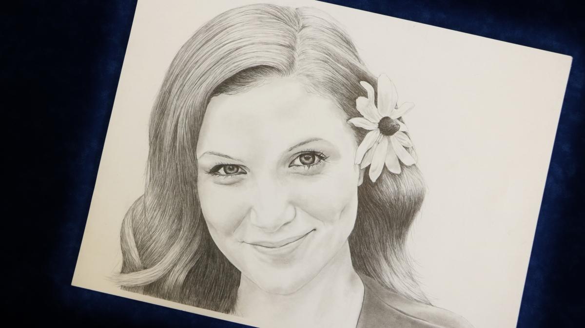 Rebecca - Graphite Portrait