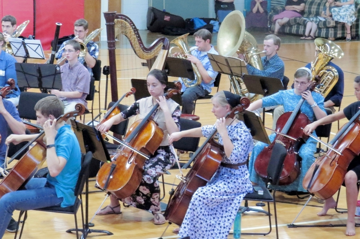 Anabaptist Orchestra Camp 2017 {Pictures}