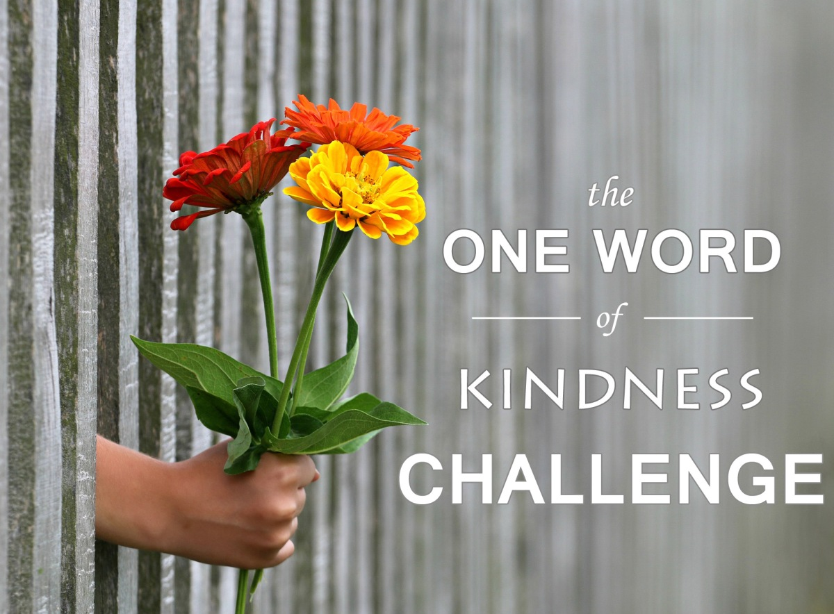 The One Word of Kindness Challenge