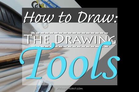 How to draw the drawing tools
