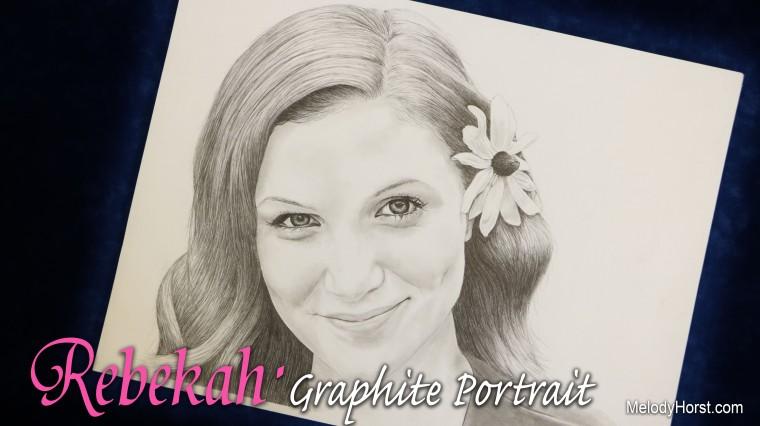 Rebekah Graphite Portrait