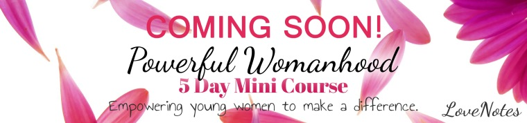 Power Womanhood Mini Course Promo