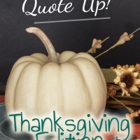 Quote Up! | Fall Edition