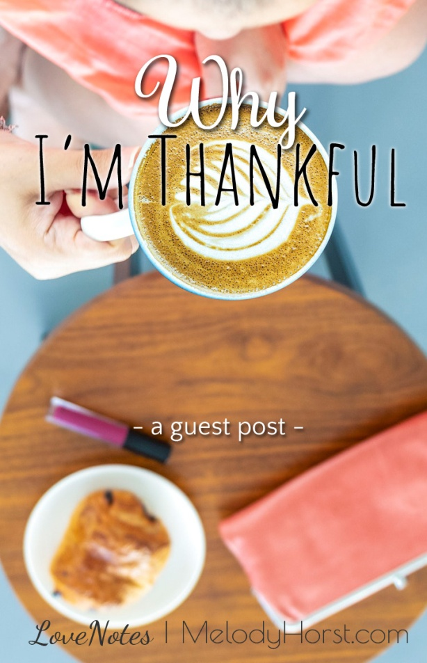 Why I'm Thankful